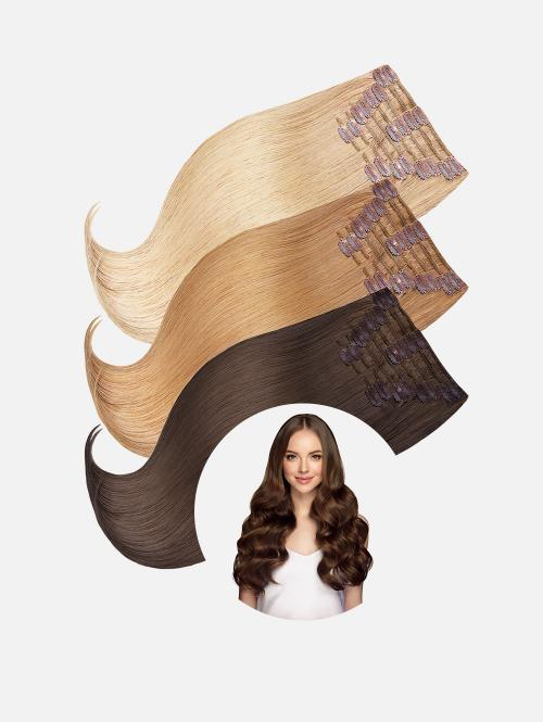 Original Clip-In Extensions Set LUXURY Steil