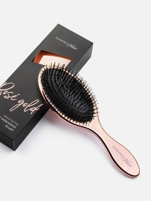 Roségoud Haarborstel voor Hair Extensions
